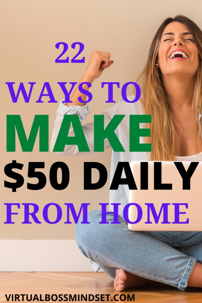 make $50 per day