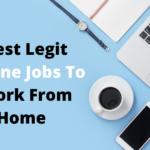 Best legit online jobs to work from home